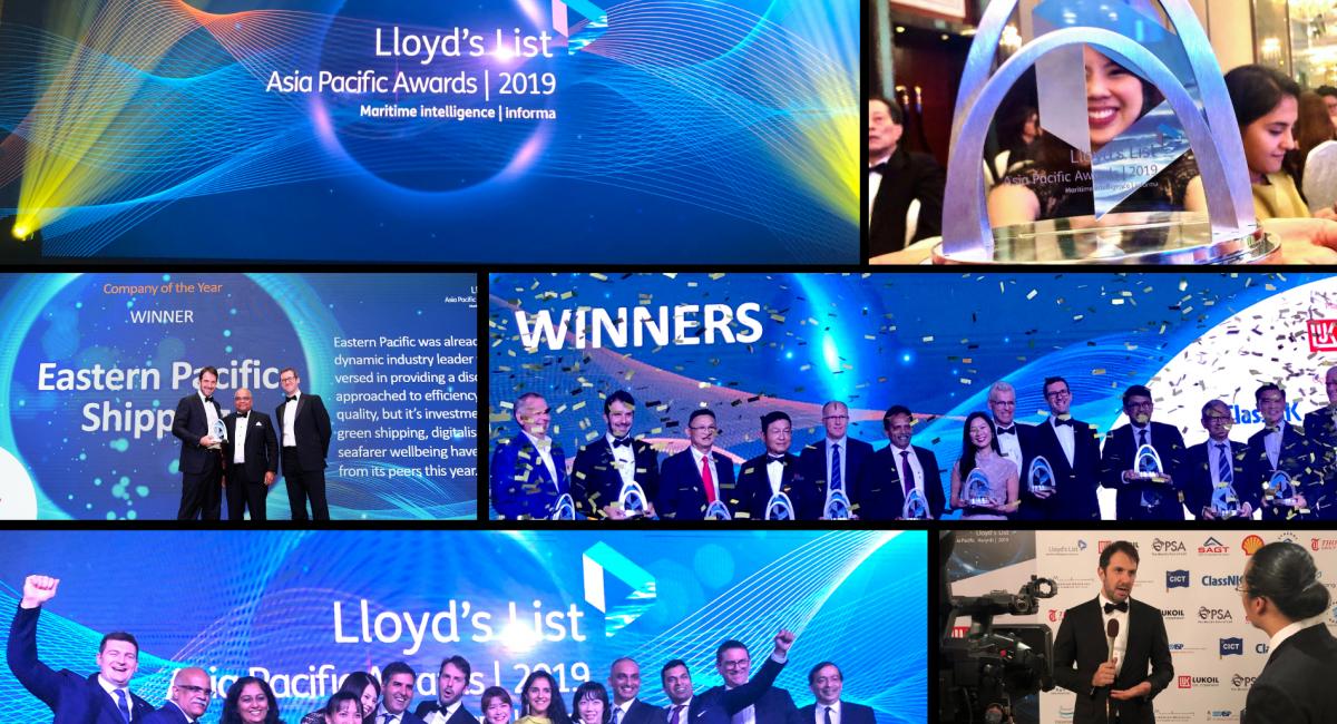 EPS wins Company of the Year Award!