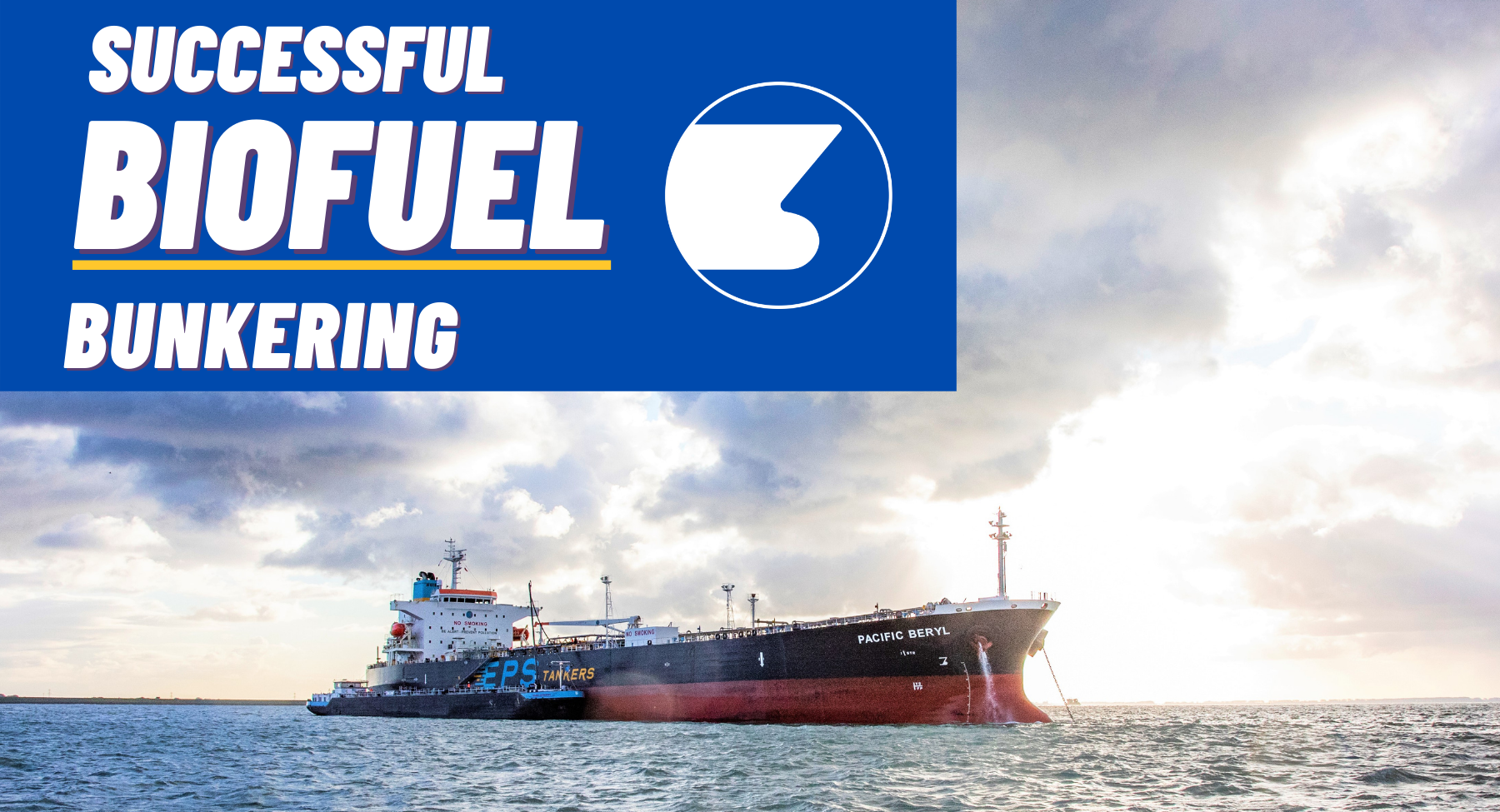 EPS collaborates with GoodFuels for marine biofuel bunker trial