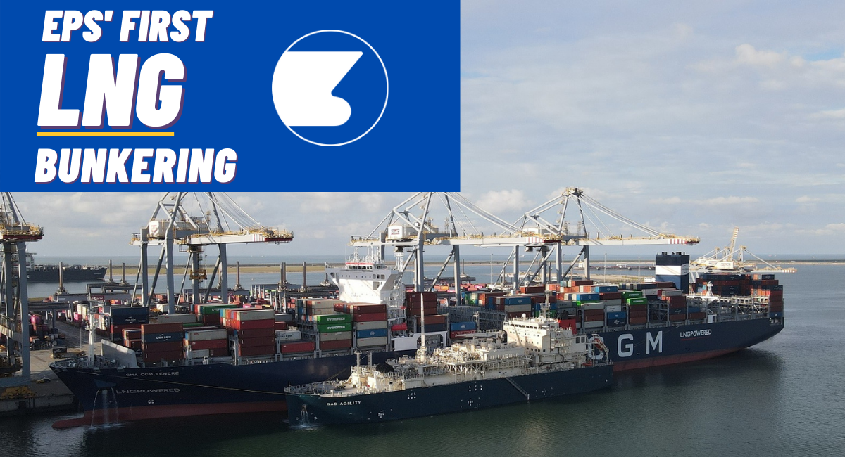EPS makes history with its first LNG bunkering!