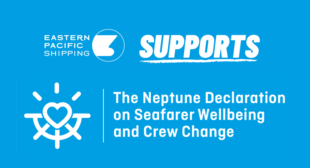 EPS Signs Neptune Declaration on Seafarer Wellbeing
