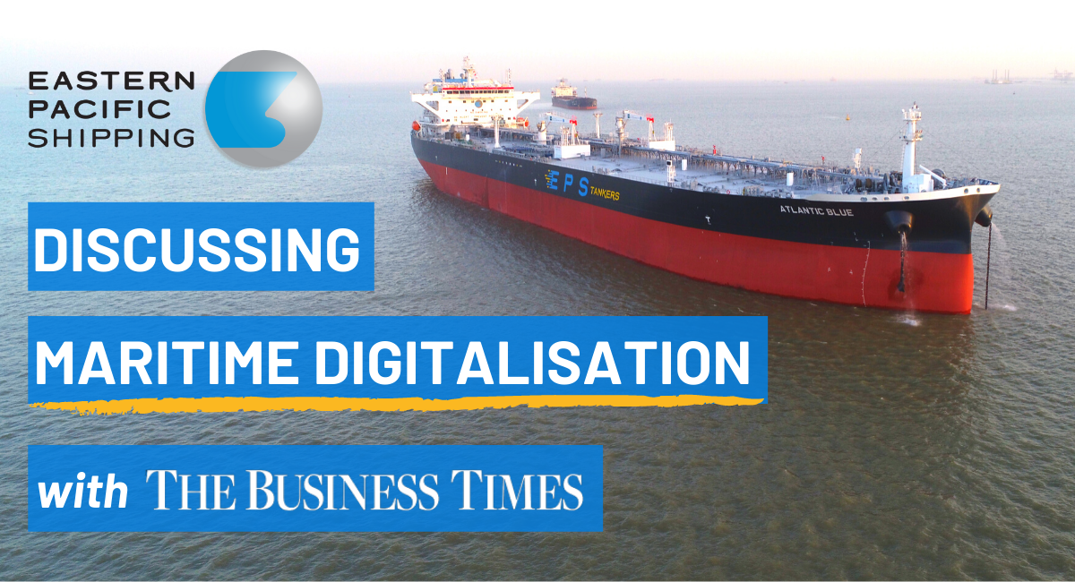 Talking Maritime Tech with The Business Times
