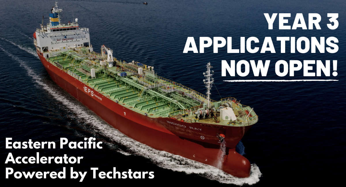 Calling all maritime startups! Now accepting applications for year 3!